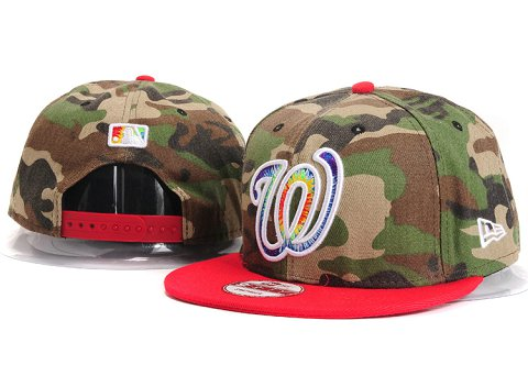 Washington Nationals MLB Snapback Hat YX132